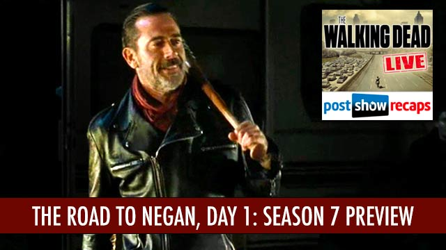 Walking Dead 2016: Season 7 Preview Show, Day 1 | Who Will Negan Kill?