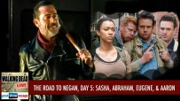 The Road to Negan, Day 5 | Abraham, Sasha, Eugene and Aaron
