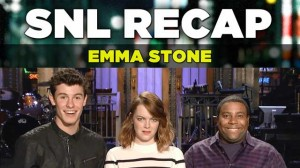 Emma Stone Hosting Saturday Night Live Recap | SNL 2016