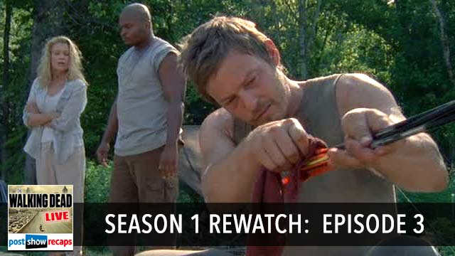 The Walking Dead Season 1 Rewatch Podcast, Episode 3: Tell it to the Frogs
