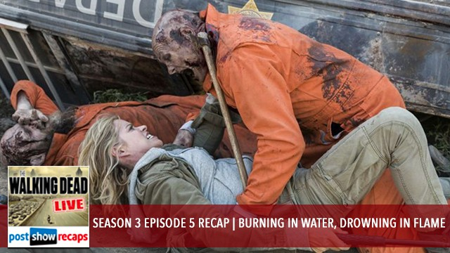 Fear The Walking Dead 2017: Season 3 Episode 5 - Burning in Water, Drowning in Flame