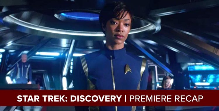 Star Trek Discovery Podcast Recap: The Vulcan Hello