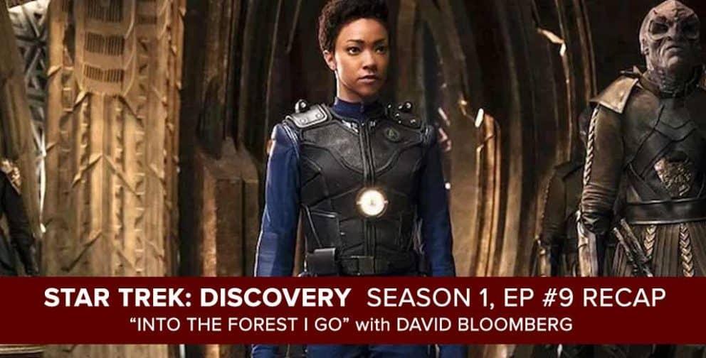 "Star Trek Discovery   Season 1, Episode 9 Recap of ""Into the Forest I Go"""