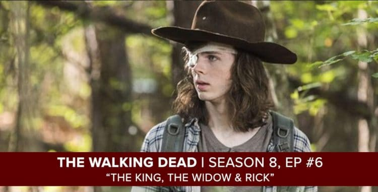 "The Walking Dead Season 8, Episode 6 Recap of ""The King, The Widow & Rick"""