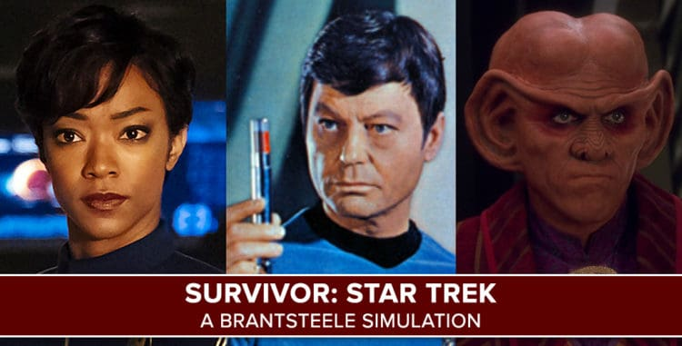 Survivor Star Trek