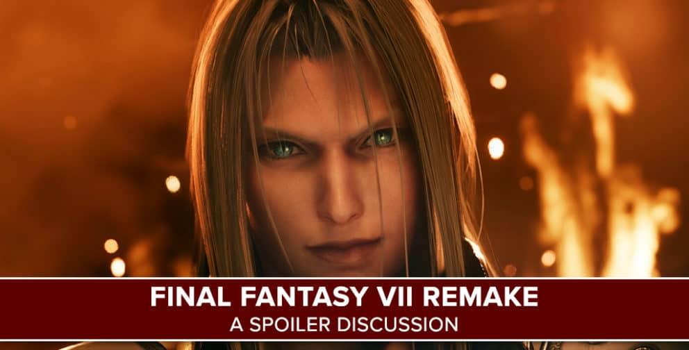 Final Fantasy VII Remake Spoiler Discussion