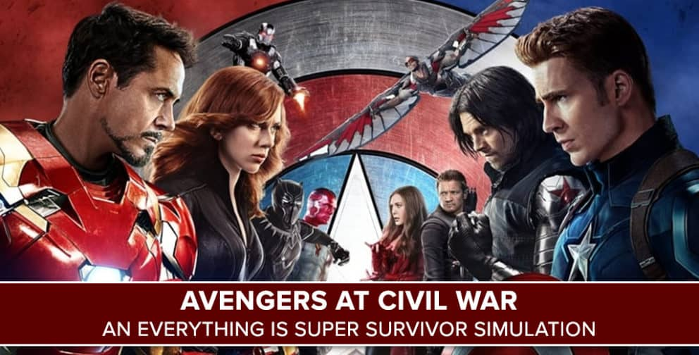 Avengers at Civil War