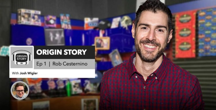 Origin Story | Episode 1: Rob Cesternino