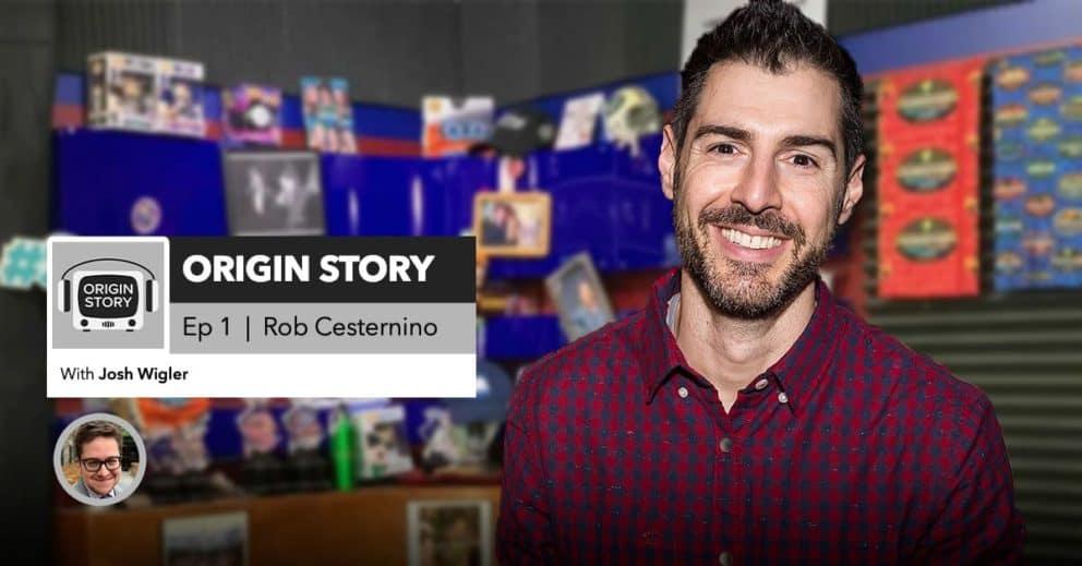 Origin Story | Episode 1: Rob Cesternino