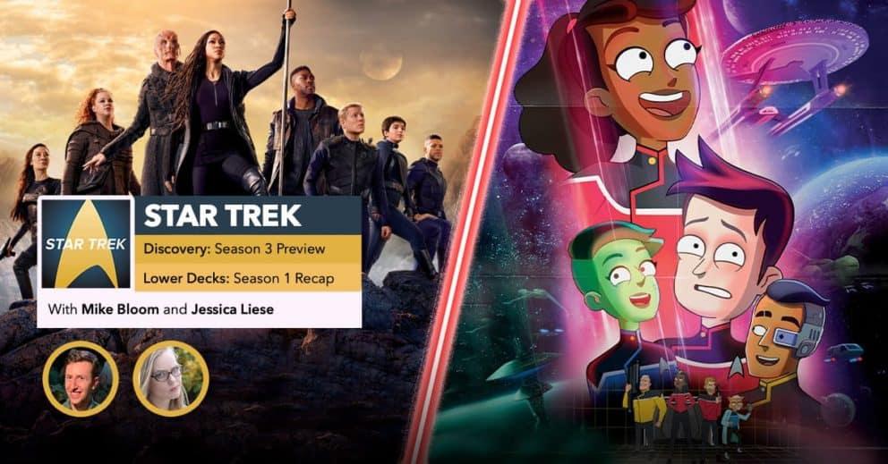 Star Trek | Lower Decks Season 1 Recap & Discovery Season 3 Preview