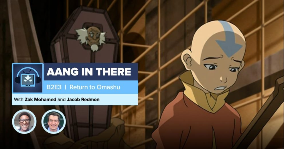 """AANG IN THERE: Avatar The Last Airbender Book 2 Episode 3 """"Return to Omashu"""""""