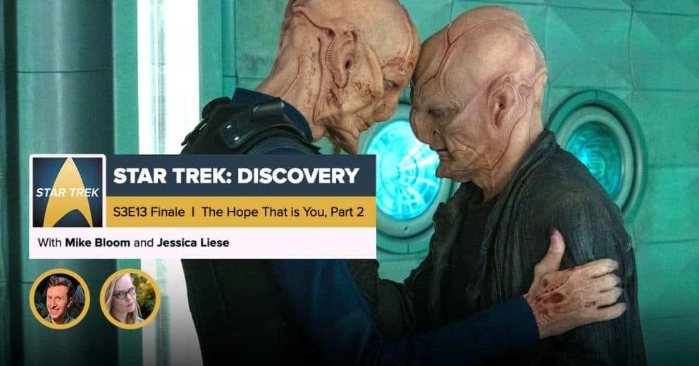 "Star Trek: Discovery | Season 3 Finale Recap: ""That Hope is You, Part 2"""