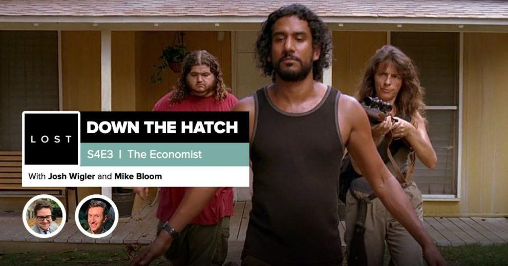 "Lost: Down the Hatch | Season 4 Episode 3: ""The Economist"""