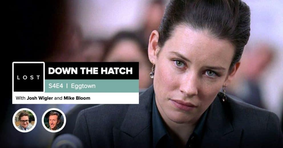 "Lost:DowntheHatch  Season 4 Episode 4: ""Eggtown"""