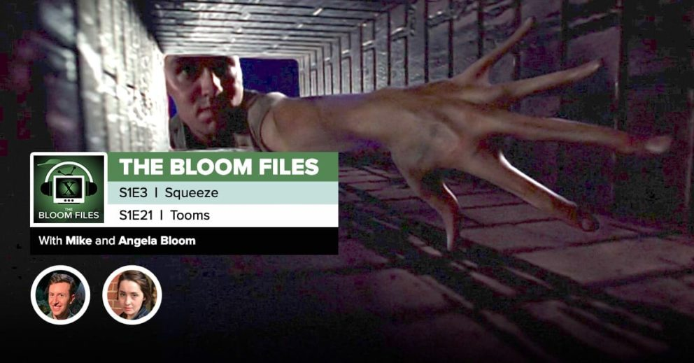 """The Bloom Files   The X-Files Season 1 Episodes 3 & 21: """"Squeeze"""" & """"Tooms"""""""