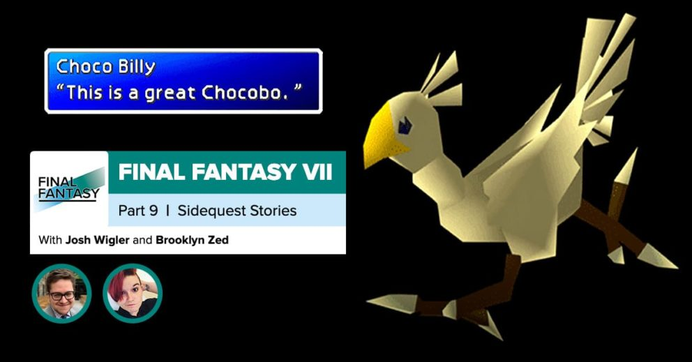 Final Fantasy VII, Recap Part 9 | The Gold Chocobo (and Other Sidequests)