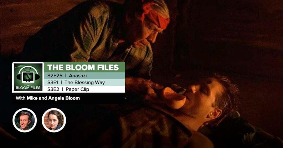 "The Bloom Files | The X-Files Season 2 Episode 25 & Season 3 Episodes 1 & 2: ""Anasazi,"" ""The Blessing Way"" & ""Paper Clip"""