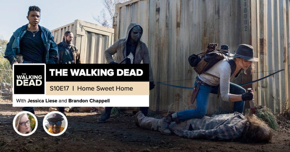 "'The Walking Dead'   Season 10, Episode 18 Recap: ""Home Sweet Home"""