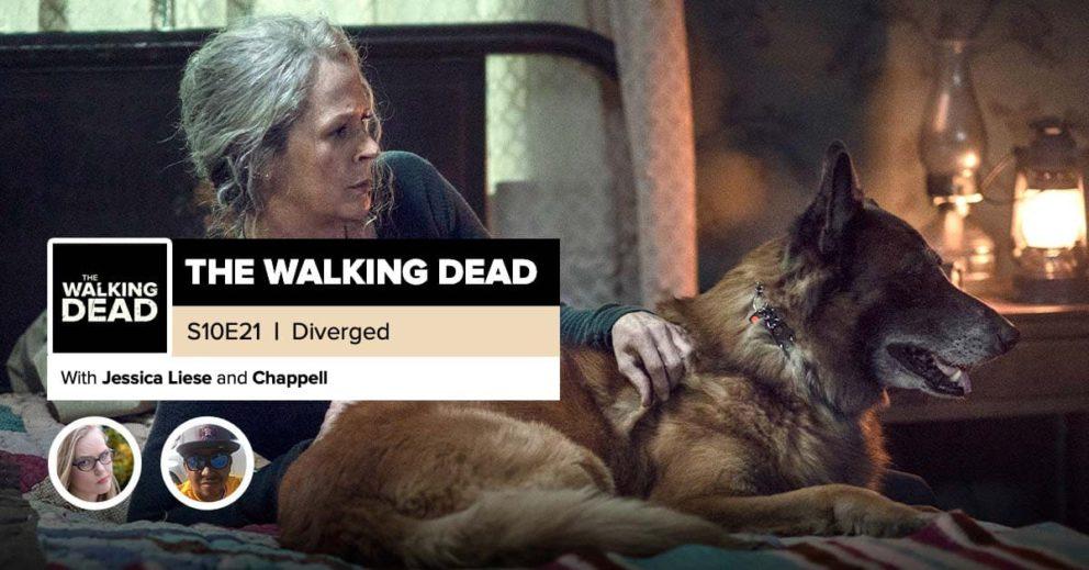 """The Walking Dead"" | Season 10, Episode 21 Recap: ""Diverged"""