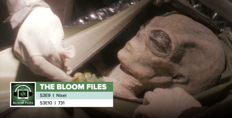 "The Bloom Files | The X-Files Season 3 Episodes 9 & 10: ""Nisei"" & ""731"""