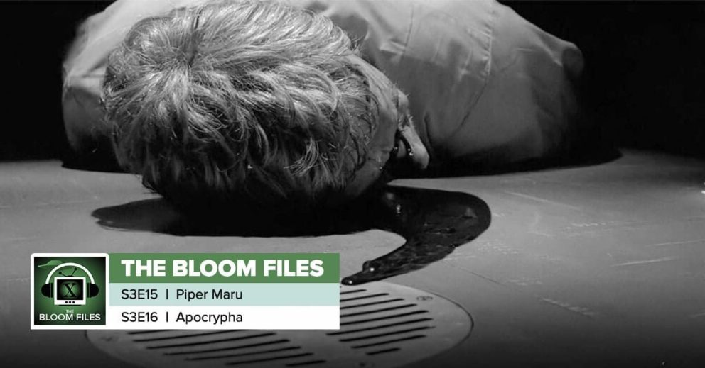 "The Bloom Files | The X-Files Season 3 Episodes 15 & 16: ""Piper Maru"" & ""Apocrypha"""