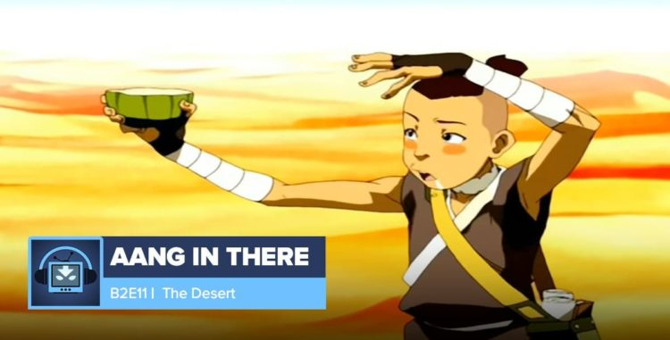 AANG IN THERE: Book 2 Episode 10: The Library