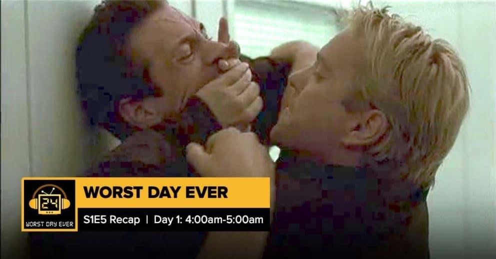 24 Season 1 Episode 5 Recap   Worst Day Ever