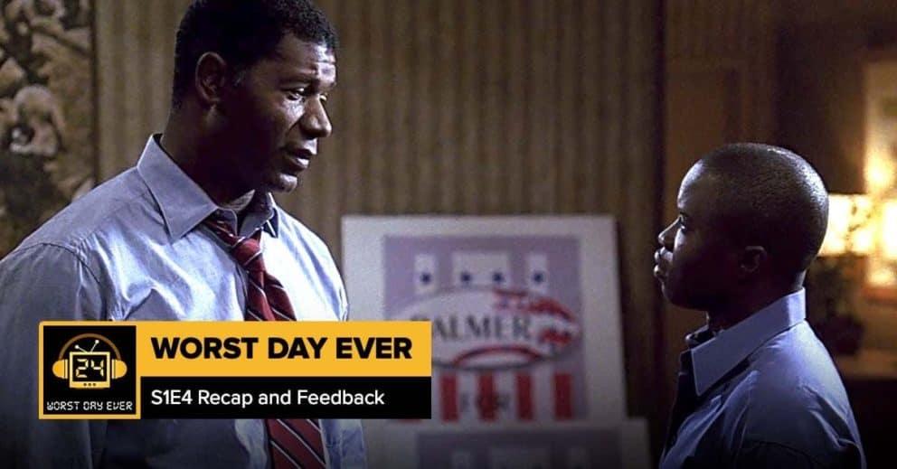 24 Season 1 Episode 4 Recap + Feedback   Worst Day Ever