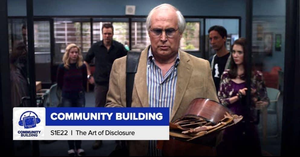 Community Building   Season 1, Episode 22: 'The Art of Discourse'