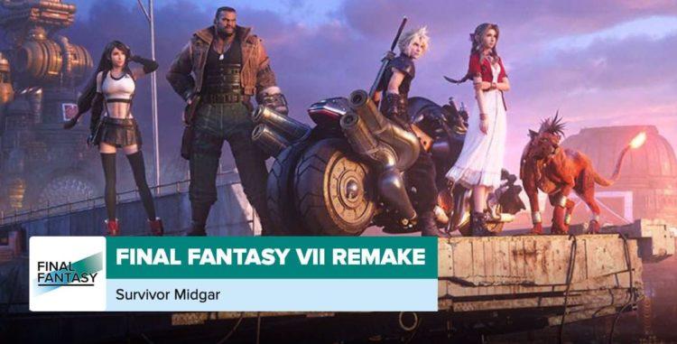 Final Fantasy VII: Survivor Midgar