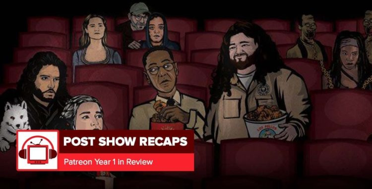 The Post Show Recaps Patreon Wants You!