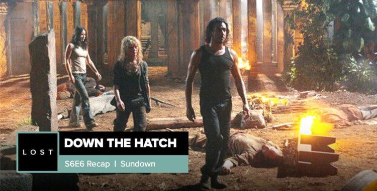Lost: Down the Hatch   Season 6 Episode 6: 'Sundown'