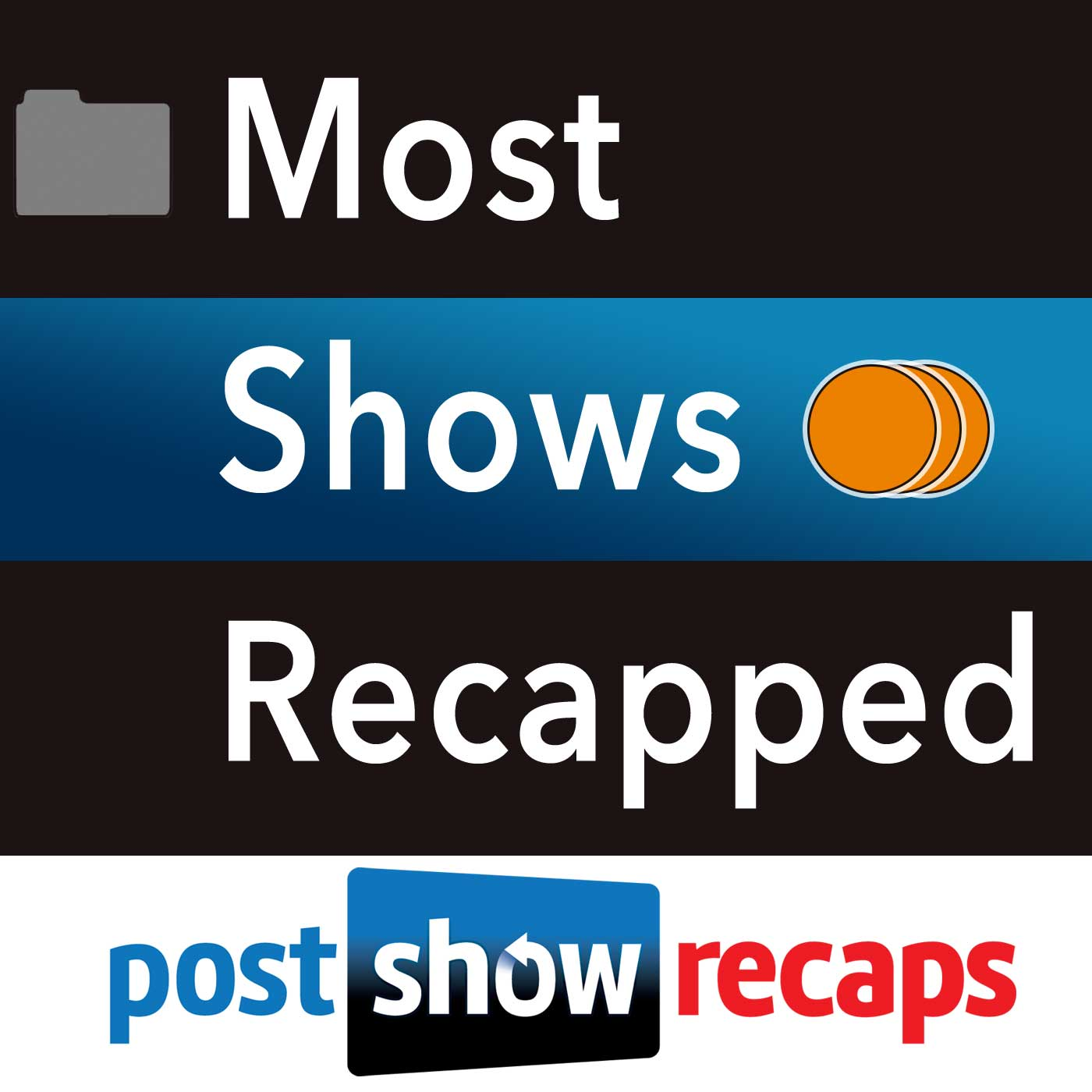 Most Shows Recapped - Post Show Recaps